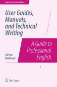 User Guides, Manuals   and Technical Writing